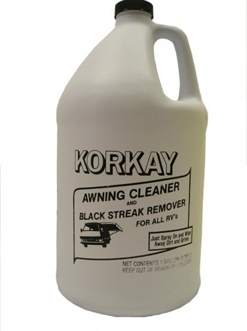 Tree Sap Remover >> Korkay Awning Cleaner | Black Streak Remover | Multi-Purpose Cleaner | Disinfectants